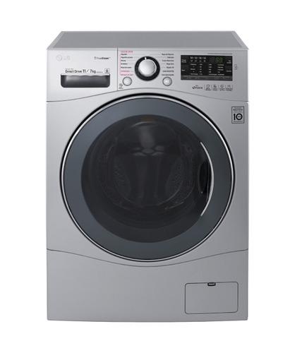 lavasecarropas lg inverter 11 kg lavado 7 kg secado f1103rdp