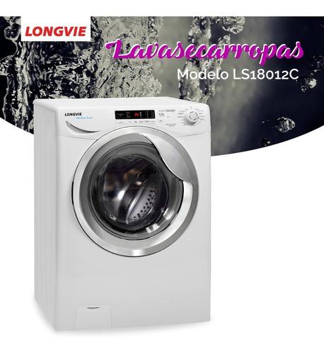 lavasecarropas longvie ls18012c 8kg 1200 frontal ls8012c pc