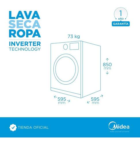 lavasecarropas midea inverter 12 kg 1200 rpm