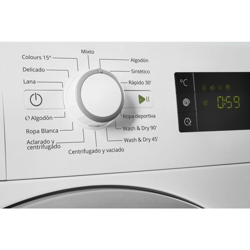 lavasecarropas whirlpool 9kg wcf09by bco inverter