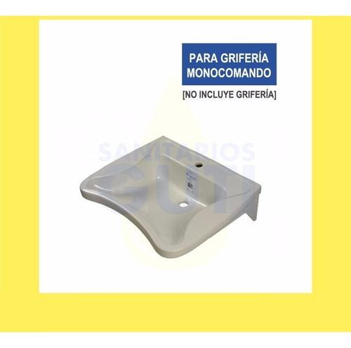 lavatorio blanco ferrum espacio pileta baño discapacitados