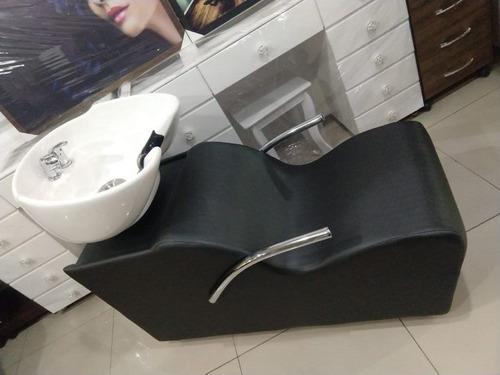lavatório cabeleleiro madri - cuba porcelana - lumi móveis
