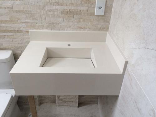 lavatório de cuba esculpida