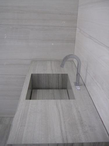 lavatório de porcelanato acabamento profissional