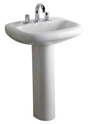 lavatorio ferrum adriatica 3 agujeros blanco lam3j