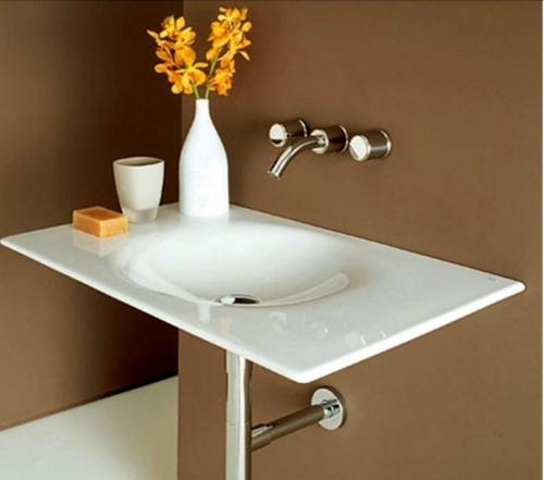 lavatorio kalahari 800 blanco roca
