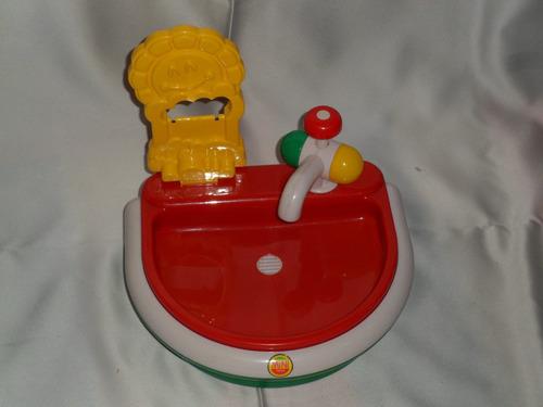 lavatorio mini toys con griferia y desagote para agua!!!
