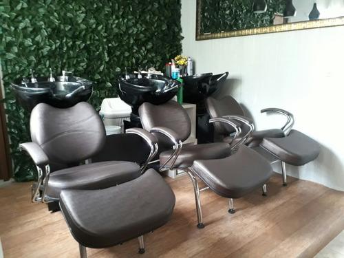 lavatório para cabeleireiro cuba fibra
