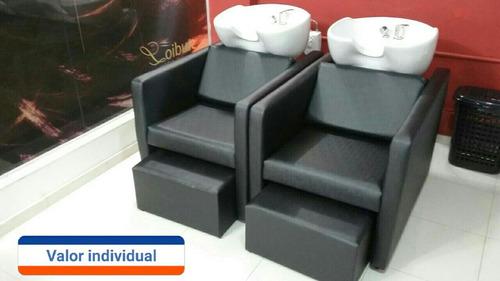 lavatório para cabeleireiro sofá ,lavatorio cuba de louça