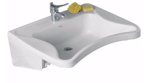 lavatorio para discapacitados loza ferrum cerámicas castro