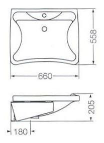 lavatorio para discapacitados modelo espacio let1f/b ferrum