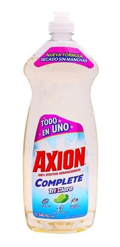 lavatrastes axion líquido tricloro 640ml.