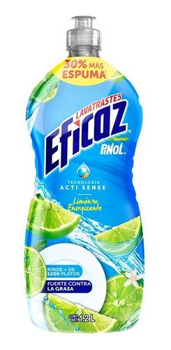 lavatrastes eficaz limón 1.2 l