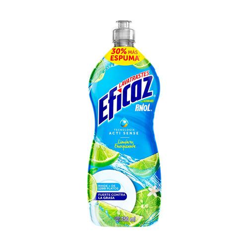 lavatrastes eficaz limón 750 ml