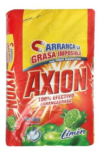 lavatrastes en polvo axion aroma limón 500 gr