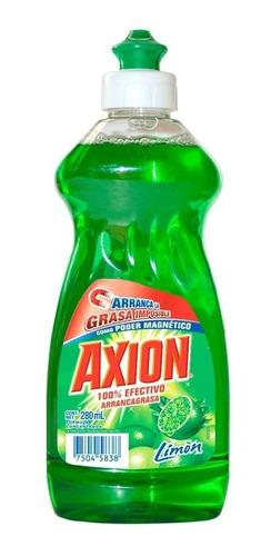 lavatrastes líquido axion aroma limón 280 ml