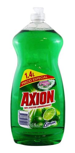 lavatrastes líquido axion limón de 1.4 l