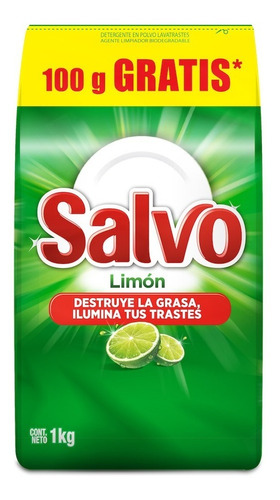 lavatrastes polvo salvo limón 1kg