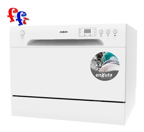 lavavajilla enxuta 6 servicios 6 programas lvenxp6w ff