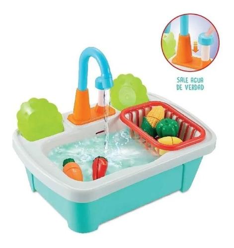 lavavajilla lavaplatos cocina juguete con verduras y frutas