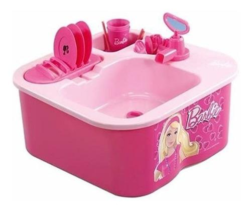 lavavajillas barbie con agua y desagote babymovil