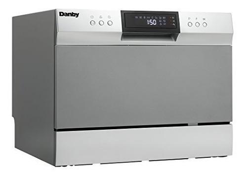 lavavajillas sobre encimera danby ddw631sdb, inoxidable