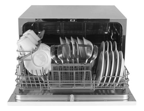 lavavajillas sobremesa 24 piezas abba lva3601vs