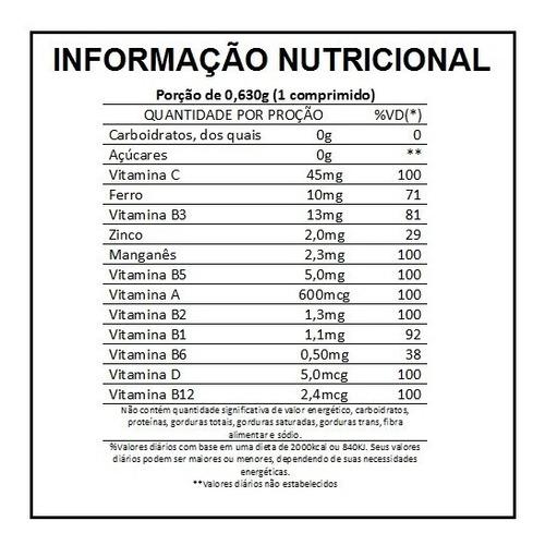 lavitan a-z - 60 comprimidos revestidos