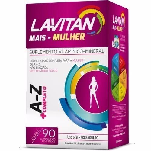 3c8af26994 Lavitan Az Mais Mulher + Completo Com 90 Comprimidos - R  34