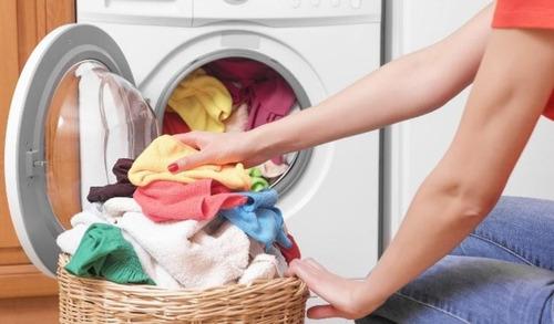 lavo e passo roupas sistema leva e trás.