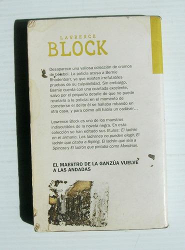 lawrence block el ladron que no queria robar libro 1999