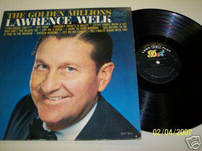 lawrence welk - lp the golden millions  (1964) - stereo  usa