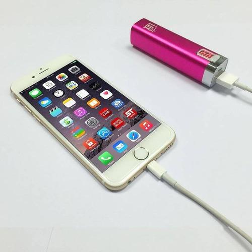 lax gadgets banco de energía 2600mah para tel + envio gratis