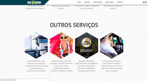 layout theme desenvolvimento blog criação tema webdesign