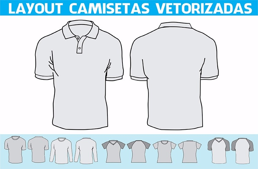 Layouts Camisetas Vetorizadas Em Corel Draw