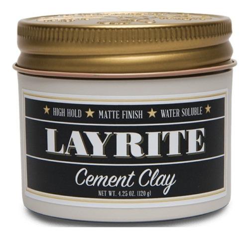 layrite pomada para cabello cement clay 4oz