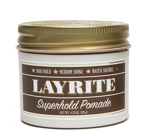 layrite pomada para cabello super hold pomade 4oz