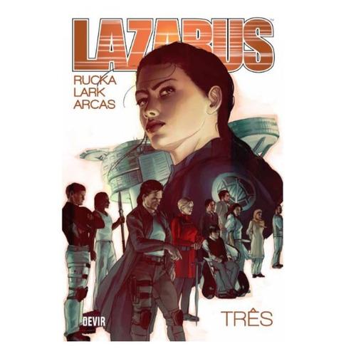 lazarus  volume 3 - hq - devir