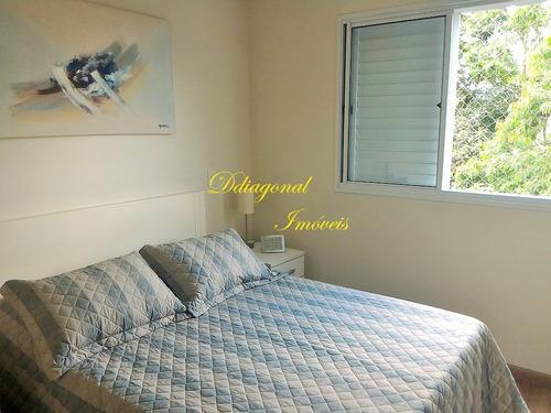 lazer e conforto, apto com 3 dorms - butantã - claudio 78668