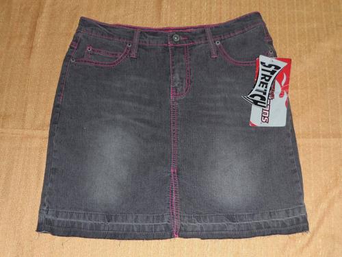 lazer jeans  falda  strech talla 11 para chicas delgadas