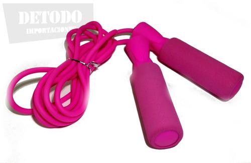 lazo cuerda para saltar pvc mma, boxeo, gimnasio, cardio