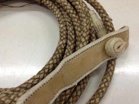 lazo de lujo trenzado cuero / bauldeaperos