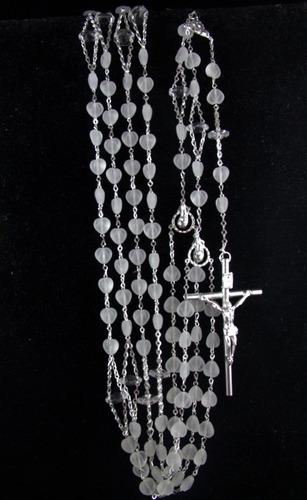 lazo mancuerna boda swarovski corazon chapa plata