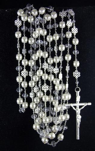 lazo mancuerna boda swarovski perla ii