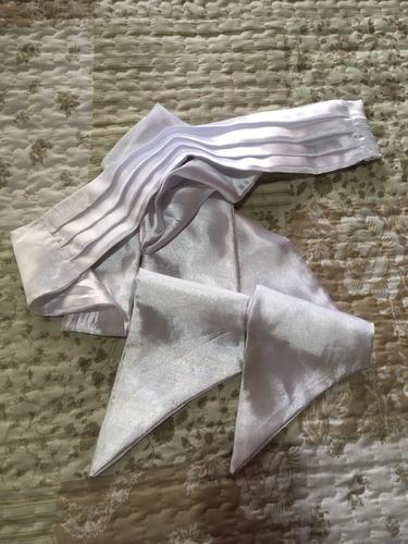 lazo para vestido de fiesta de raso