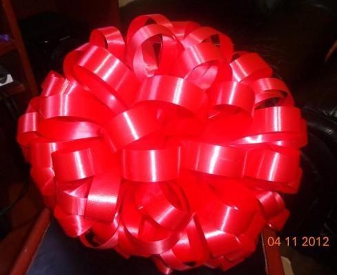 lazos moños en cinta de agua para canastas regalos empresas