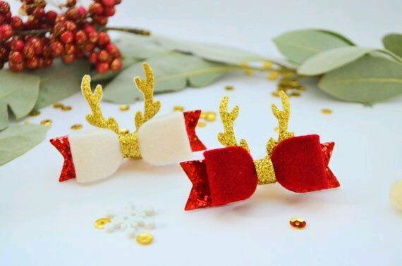 Lazos Para Ninas Motivos Navidad Bs 18000 En Mercado Libre - Motivos-navidad
