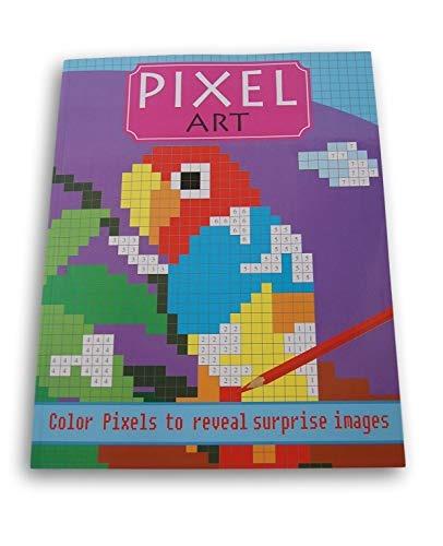 Lazy Days Pixel Art Sorpresa Imagenes Libro Para Colorear L