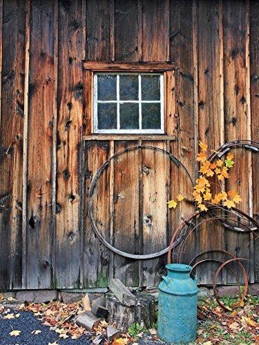 lb 5x7ft vintage puerta poli tela fotografía telón de fondo