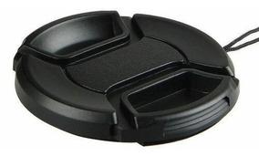 Tapa para Objetivos JJC LC-55 55mm Negro Tapa de Lente 5,5 cm